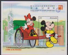 2494  WALT DISNEY -  GRENADA -  A Rite On The Rickshaw . - Disney