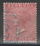 Bermudes - Bermuda - YT 1E Oblitéré - Wmk Crown CC - Bermudes