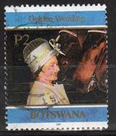Botswana 1997 Single P2 Commemorative Stamp From The Golden Wedding Set. - Botswana (1966-...)