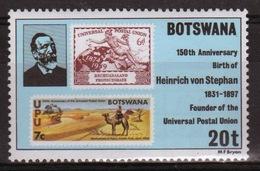 Botswana 1981 Single 20t Commemorative Stamp From The Founder Of The UPU Set. - Botswana (1966-...)