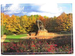 Warsaw Chopin Monument /  Poland - Polonia