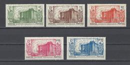 COTE DES SOMALIS.  YT  PA  N° 105/109  Neuf **  1939 - Soudan (1894-1902)