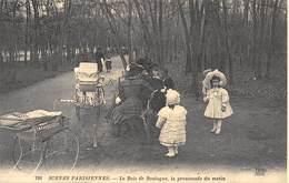 Paris - Scènes Parisiennes - Le Bois De Boulogne, La Promenade Du Matin - Landaus - Cecodi N'A 103 - Lotti, Serie, Collezioni