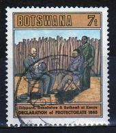 Botswana 1985 Single 7t Commemorative Stamp From The Declaration Of Bechunaland Set. - Botswana (1966-...)