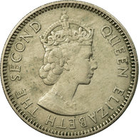 Monnaie, Etats Des Caraibes Orientales, Elizabeth II, 25 Cents, 1955, TTB - Caraïbes Orientales (Etats Des)