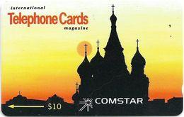 Russia - Comstar - Intern. Tel. Cards Magazine - 6SSRA - 1992, 1.500ex, Used - Rusia