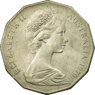 Monnaie, Australie, Elizabeth II, 50 Cents, 1970, TTB, Copper-nickel, KM:69 - Monnaie Décimale (1966-...)