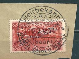 Saar MiNr. 119 Vollstempel  LEBACH   (0479) - 1920-35 Saargebiet – Abstimmungsgebiet