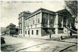Algérie - Batna - Le Palais De Justice Et La Prison Civile. - Batna