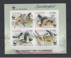 OUGANDA.  YT   N° 2458/2461 ND  Neuf **  2012 - Ouganda (1962-...)