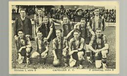 "** CAPELLEN  F.C.                   .** - I°AFDEELING, Reeks B-/ DIVISION I,série B    ""   1935-1937 ? ""-- - Kapellen"