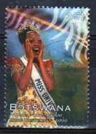 Botswana 1999 Single 35t Commemorative Stamp From The Miss Universe Set. - Botswana (1966-...)