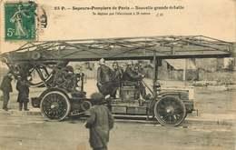 POMPIERS  SAPEURS POMPIERS De PARIS  Nouvelle Grande échelle - Sapeurs-Pompiers
