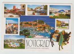 23.VII.2008  - AK/CP/Postcard  -  Kroatien / Istrien / Novigrad   -  Gelaufen  -  Siehe Scans  (cro 002) - Kroatien