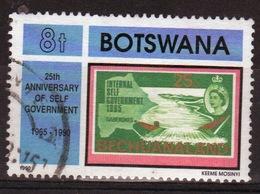 Botswana 1990 Single 8t Commemorative Stamp From The Anniversaries Set. - Botswana (1966-...)