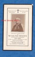 Faire Part De Décés Avec Photo De 1889 - Monseigneur Louis Victor TOURNEUR Curé De SEDAN & Vicaire Général à REIMS - Décès