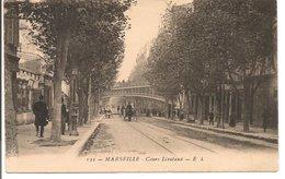 L200A284 - Marseille - Cours Lieutaud - EL N°132 - Jolie Animation, Charette - The Canebière, City Centre