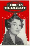 PROGRAMME DE THEATRE 1960 / LUCY CROWN AVEC DEDICACE De EDWIGE FEUILLERE YVES VINCENT JACQUES VERLIER CHANTAL DEBERG MIC - Programs