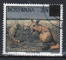 Botswana 1996 Single 20t Overprinted Commemorative Stamp From The Animal Set. - Botswana (1966-...)