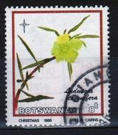 Botswana 1986 Single 8t Commemorative Stamp From The Christmas Flower Set. - Botswana (1966-...)