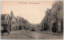 02 VIC-sur-AISNE - Place De La Mairie - Vic Sur Aisne