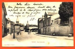 """CPA 52 Wassy """" Rue Nationale """" Carte Precurseur - Wassy"""