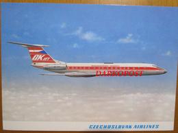Airlines OK Jet CZ OK-CFZ Ceskoslovenske  Aerolinie Tupolev Tu-134 A ISSUE - 1946-....: Era Moderna
