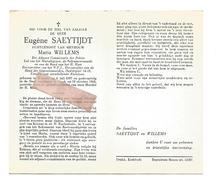 D 614.EUGENE SAEYTIJDT-Adjunct Commissaris Politie /Marialegioen/Sacramentwacht/Oudstrijder 14/18-°WATERLO 1897/+GENK'68 - Images Religieuses