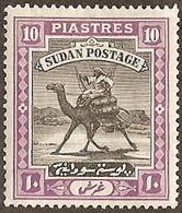 Sudan,  Scott 2018 # 92,  Issued 1948,  Single, MHR,  Cat $ 12.00, Camel - Sudan (1954-...)