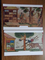 10 Cards / The Slovene Popular Art On Fore Parts Of Bee Hives --> Unwritten - Cartes Postales