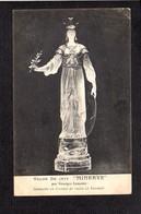 Art / Sculpture / Salon De 1914 / Georges Lemaire / Minerve / Statuette En Cristal De Roche..../ Autographe Au Verso - Sculptures