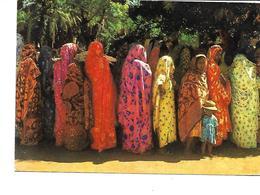 Comores-MAYOTTE-Groupe De Femmes En Apparats-PUB.Collection AMORA-TIMBRE-Obliteration-1961 - Mayotte