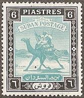Sudan,  Scott 2018 # 90,  Issued 1948,  Single, MLH,  Cat $ 3.50, Camel - Sudan (1954-...)