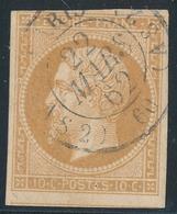 N°13 NUANCE ET OBLITERATION. - 1853-1860 Napoleon III