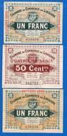 Libourne  3  Billets - Chambre De Commerce