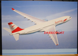 Airlines Austrian Arrows Lauda OE-LAM Airbus A330 - ISSUE - 1946-....: Moderne