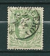 30 Gestempeld DC CHARLEROY - COBA 4 Euro - 1869-1883 Léopold II