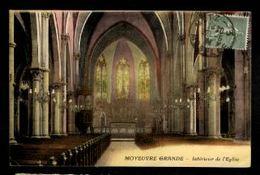 57 - MOYEUVRE GRANDE - Intérieur De L'Eglise - France