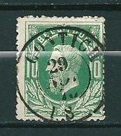 30 Gestempeld DC CONTICH - COBA 15 Euro - 1869-1883 Leopold II