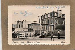 CPSM Dentelée - LION-sur-MER (14) - Aspect Du Quartier De L'Hôtel De La Plage En 1959 - Frankrijk