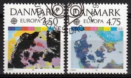 Denemarken Mi 1000,1001 Europa Cept 1991  Gestempeld Fine Used - Europa-CEPT