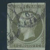 N°11 NUANCE ET OBLITERATION. - 1853-1860 Napoleon III