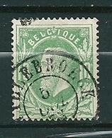 30 Gestempeld WILLEBROECK - COBA 8 Euro - 1869-1883 Léopold II