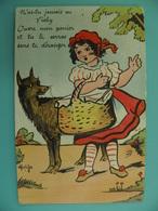 ST/221 - 03 - VICHY- Chaperon Rouge Et Le Loup  - Illustrateur MATEJA - Vichy