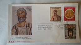 Enveloppe 1°  Jour...poste VATICAN ..1967... EXEUNTE  XIX  SAEC - Joint Issues