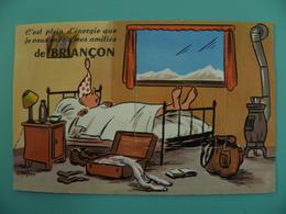 ST/222 - 05 - Briancon- Gros Dormeur - Illustrateur ? Voir Photo - Briancon