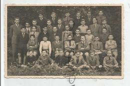 Photo De Classe. Ecole De Garçons. Instituteur Et 35 Garçons De 12 à 16 Ans. - Fotografie