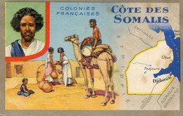 SOMALIE(PUBLICITE LION NOIR) DJIBOUTI - Gibuti