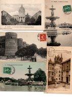 LOT DE 500 CPA ET CPSM(petit Format)  D' ANGERS. - Cartes Postales