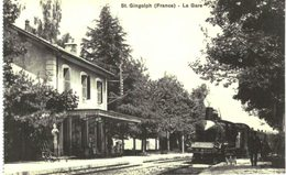 GARE ... SAINT GINGOLPH - Stations With Trains